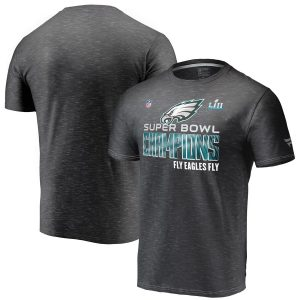 Philadelphia Eagles Super Bowl LII Champions Trophy Collection Locker Room T-Shirt
