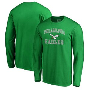 Philadelphia Eagles Branded Vintage Victory Arch Long Sleeve T-Shirt