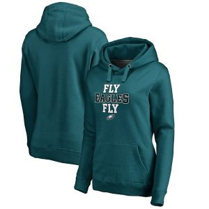 Philadelphia Eagles Women's Hometown Collection Fly Eagles Fly Pullover Hoodie