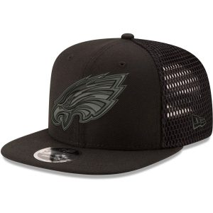 Philadelphia Eagles New Era Mesh Fresh Tonal 9FIFTY Adjustable Snapback Hat
