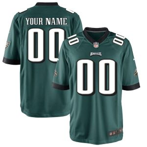 Philadelphia Eagles Nike Custom Game Jersey