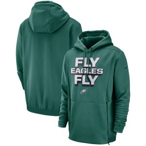 Philadelphia Eagles Nike Sideline Local Lockup Pullover Hoodie