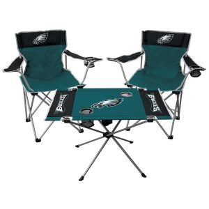 Philadelphia Eagles Rawlings Tailgate Chair And Table Set