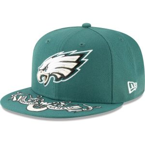 Philadelphia Eagles New Era 2019 NFL Draft On-Stage Official 59FIFTY Fitted Hat