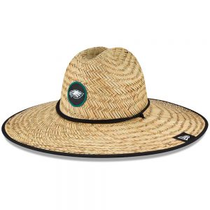 Philadelphia Eagles New Era 2020 NFL Summer Straw Hat